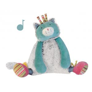 Moulin Roty - 660043 - Chat musical Les Pachats (335308)