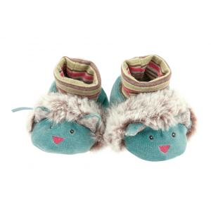 Moulin Roty - 660011 - Chaussons chat Les Pachats (335350)