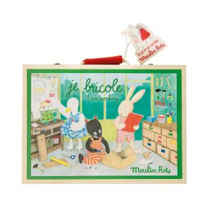 Moulin Roty - 632403 - Valise Je bricole La Grande Famille (335830)