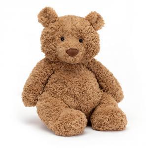 Jellycat - BARL2BR - Peluche ours brun Bartholomew Bear Large 36cm (336220)