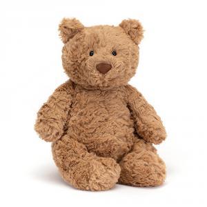 Jellycat - BARM3BR - Peluche ours brun Bartholomew Bear Medium 28cm (336222)