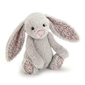 Jellycat - BLB6SB - Blossom Silver Bunny Small -  Hauteur 18 cm (336254)