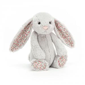 Jellycat - BL3BSN - Blossom Silver Bunny Medium -  Hauteur 31 cm (336298)