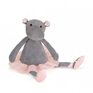 Jellycat - DD6H - Dancing Darcey Hippo -  Hauteur 33 cm (336308)