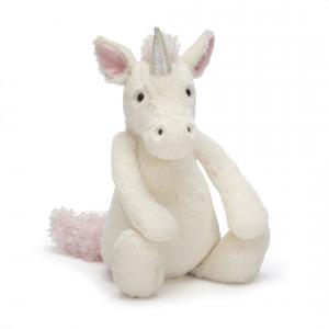 Jellycat - BAS3UUS - Bashful Unicorn Medium -  Hauteur 31 cm (336510)