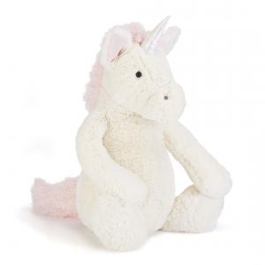 Jellycat - BAL2UN - Bashful Unicorn Large -  Hauteur 36 cm (336582)