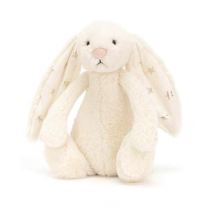 Jellycat - BASS6TW - Bashful Twinkle Bunny Small - 18cm (336650)
