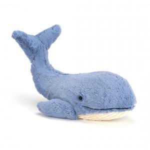 Jellycat - WIL2W - Peluche baleine Whale - l = 46 cm x H =20 cm (336732)