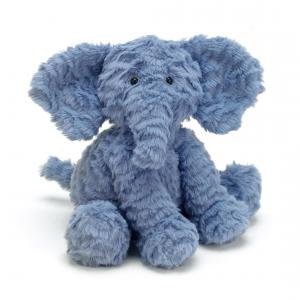 Jellycat - FW6EUK - Fuddlewuddle Elephant Medium -  Hauteur 23 cm (336814)