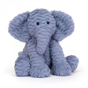 Jellycat - FW6EUK - Peluche éléphant Fuddlewuddle - L = 8 cm x l = 13 cm x H =23 cm (336814)