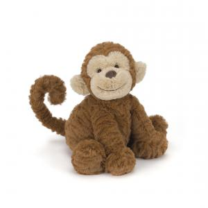 Jellycat - FW6MK - Fuddlewuddle Monkey Medium -  Hauteur 23 cm (336822)