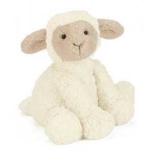Jellycat - FW6LAM - Fuddlewuddle Lamb Medium -  Hauteur 23 cm (336866)