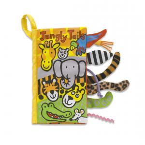 Little Jellycat - BN444J - Tails Jungly Book (336968)