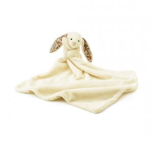 Little Jellycat - BBL4CBB - Blossom Cream Bunny Soother -  Hauteur 33 cm (337044)
