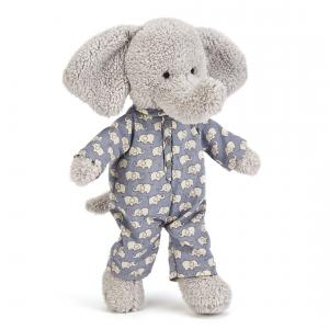 Little Jellycat - BED4E - Bedtime Elephant -  Hauteur 23 cm (337076)