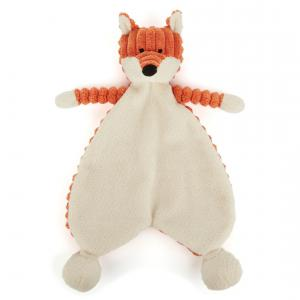 Little Jellycat - SRS4FX - Cordy Roy Baby Fox Soother -  Hauteur 23 cm (337274)