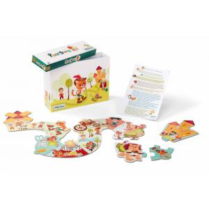 Lilliputiens - 86489 - Le Chat botté puzzle story (337348)