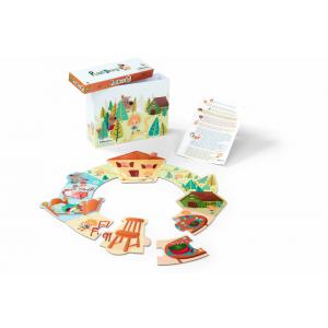 Lilliputiens - 86488 - Boucle d'or puzzle story (337352)