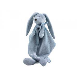 Dimpel - 883350 - Flor doudou bleu, lapin doudou (337432)