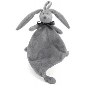 Dimpel - 860574 - Neela doudou lapin attache-tétine - gris-clair (337442)