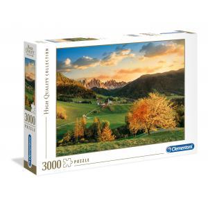 Clementoni - 33545 - Puzzles 3000 Pièces - The Alps (Ax1) (337468)