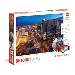 Clementoni - 39404 - Puzzles 1000 Pièces - LAS VEGAS (Ax1) (337492)