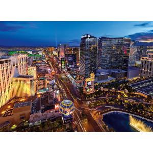 Clementoni - 39404 - Puzzles réalité virtuelle 1000 pièces - Las Vegas (Ax2) (337492)