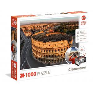 Clementoni - 39403 - Puzzles réalité virtuelle 1000 pièces - Rome (Ax1) (337494)