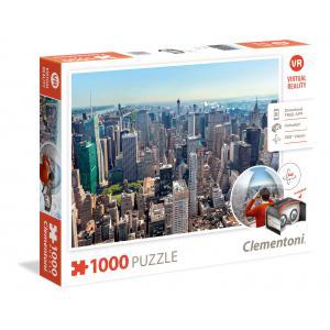 Clementoni - 39401 - Puzzles réalité virtuelle 1000 pièces - New York (Ax1) (337498)