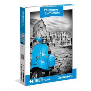 Clementoni - 39399 - Puzzle Platinum collection 1000 pièces - Rome (337502)