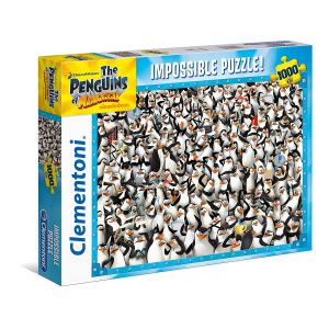 Clementoni - 39362 - Puzzles 1000 Pièces - The Penguins of Madagascar (337516)