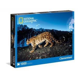 Clementoni - 39376 - Puzzles 1000 Pièces - Snow Leopard (337518)