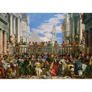 Clementoni - 39391 - Puzzle Musée du louvre 1000 pièces - Le nozze di Cana (337524)
