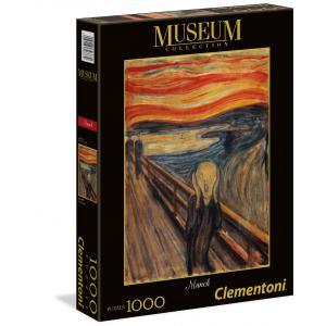 Clementoni - 39377 - Puzzle Modern art 1000 pièces - Munch: L'Urlo (Ax1) (337528)