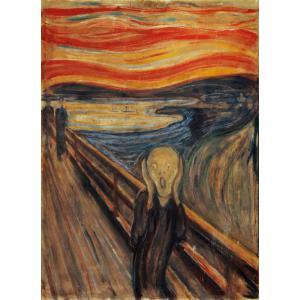 Clementoni - 39377 - Puzzles museum collection 1000 pièces - Munch: L'Urlo (337528)