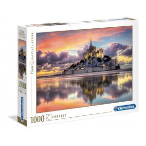 Clementoni - 39367 - Puzzles 1000 Pièces - Le magnifique Mont Saint-Michel (A2x1) (337540)