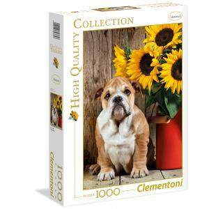 Clementoni - 39365 - Puzzle 1000 pièces  - The bulldog (337542)