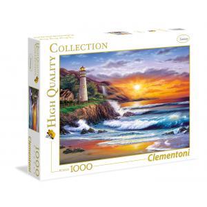 Clementoni - 39368 - Puzzle 1000 pièces  - Lighthouse at sunset (337544)