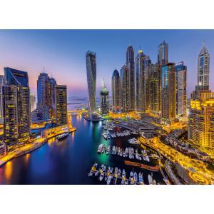 Clementoni - 39381 - Puzzle 1000 pièces  - Dubai (Ax1) (337546)