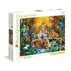 Clementoni - 39380 - Puzzles 1000 Pièces - Mystic Tigers (A3x1) (337548)