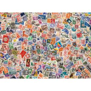 Clementoni - 39387 - Puzzles 1000 pièces high quality collection - Stamps (337554)