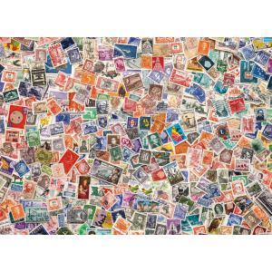 Clementoni - 39387 - Puzzle 1000 pièces  - Stamps (Cx1) (337554)