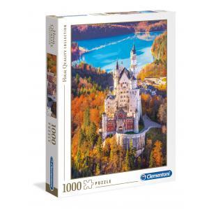 Clementoni - 39382 - Puzzle 1000 pièces  - Neuschwastein (Ax1) (337558)