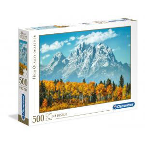Clementoni - 35034 - Puzzles 500 Pièces - Grand Teton in Fall (337570)