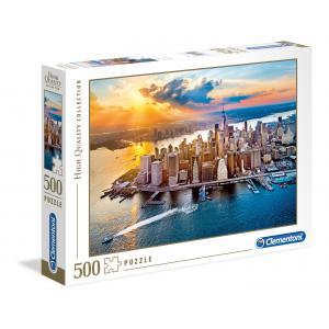 Clementoni - 35038 - Puzzles 500 Pièces - New York (Ax1) (337572)