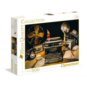 Clementoni - 35040 - Puzzles 500 Pièces - The typewriter (337578)