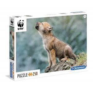 Clementoni - 29746 - Puzzles 250 Pièces - WWF 250p wolf (Ax2) (337586)