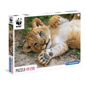 Clementoni - 29745 - Puzzles 250 Pièces - WWF 250p lion  (Ax2) (337588)