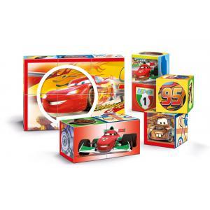 Clementoni - 41505 - Cubes 12 pièces multi play - Cars (Ax2) (337720)