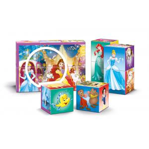 Clementoni - 41504 - Cubes 12 pièces multi play - Princess (Ax2) (337724)